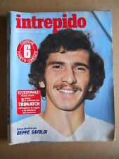 INTREPIDO n°37 1977 Beppe Savoldi Paola Pigni  [G551]
