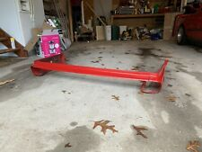 OEM BMW e30 Rear Bumper Trim Pieces Left Right Middle Early Zinnoberrot Red