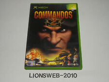 Microsoft Xbox jeu-COMMANDOS 2 MEN OF COURAGE #120