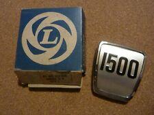 TRIUMPH 1500 TC Front panel badge .  NOS.  Part no 631398