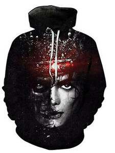 MJ Michael Jacks 3D Printing Sweater Hoodie Pullover Shirts Tops Clothes Student