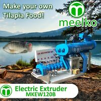 ELECTRIC EXTRUDER TO MAKE YOUR OWN TILAPIA FISH FOOD - MKEW120B (FREE SHIPPING)