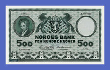 NORWAY - 500 Kroner 1976s - Reproductions - See description!!!