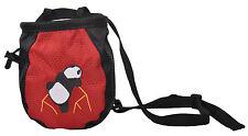 New Fiend Climb Chalk Bag Climb Rock Climbing Gear Equiqment Red Color