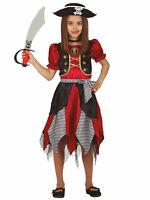 Girls Caribbean Pirate Princess of the Seas Costume Child Fancy Dress Book Week