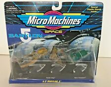 Micro Machines Babylon 5 Collection #2 1994 New in Package Galoob #65620