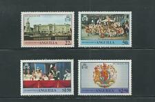 Anguilla Scott # 315-318 MNH 25th Anniversary QEII Coronation