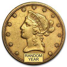 $10 Liberty Gold Eagle Pre-33 Gold Coin - Random Year - Extra Fine - SKU #118