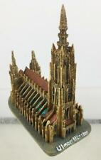Ulm Münster Church Poly Model 4 5/16in Souvenir Germany New