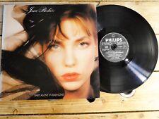 JANE BIRKIN BABY ALONE IN BABYLONE LP 33T VINYLE EX COVER EX ORIGINAL 1985