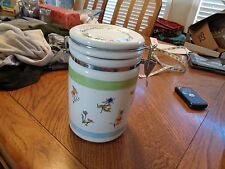 Winnie the Pooh Smackeral of Something Candy Jar w/Lid DISNEY Air tight closure