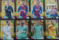 LOTE 7 BALONES DE ORO + CARTA INVENCIBLE ADRENALYN XL 2019-2020