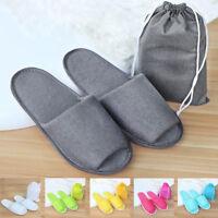 Women Men Soft Warm Home Anti-slip Shoes Cotton Sandal House Indoor Slippers