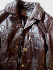 Manteau en cuir  VERO MODA en très bon état général T M