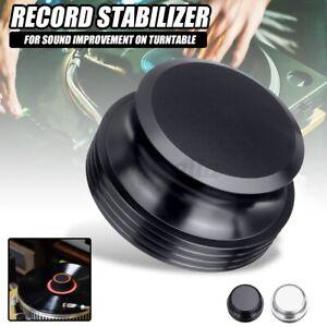 Record Weight Clamp LP Vinyl Plattenspieler Aluminium Turnable Disc Stabilizer