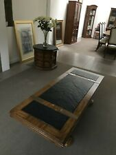 Vintage Retro Walnut Coffee Table and two matching octagonal side tables