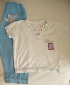 Kinder Hausanzug TCM Kurzarm Hose mit breitem Bund + Shirt Tchibo Gr 92 98 104