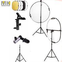 Selens 5-in-1 Oval Light Reflector Photo Lighting, Clamp Holder, Boom Arm Kit