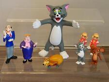 Vintage Rare Mattel/Corgi Tom and Jerry The Movie PVC Figure Set - 1990's x8