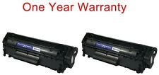 2 non-OEM black ink toner cartridge for HP 1010 1012 1018 1020 LaserJet printer
