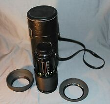 Vivitar Series 1 70-210mm 1:3.5 Macro Focusing zoom Lens VMC - K Mount - W/Case