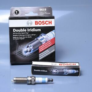 Spark Plug-OE Fine Wire Double Iridium Bosch 9619 - 4 pieces