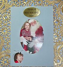 """Child'S, Baby And Kids Matte Photo Frame """"America'S Most Beautiful Baby"""""""