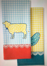The Pioneer Woman  Animals Kitchen Towels Set of 2  NWT