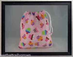 Gymnastics Leotard Grip Bags / Yummy Cupcakes Gymnast Birthday Goody Bag
