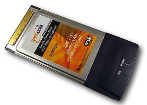 PCMCIA (PC Card) WLAN 54Mbit                      #a164
