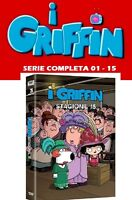 I GRIFFIN - THE FAMILY GUY - COLLEZIONE COMPLETA 01-15 (43 DVD) SERIE TV ANIMAZ.