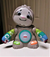 Fisher Price Linkimals Smooth Moves Sloth 85+ Songs Sounds