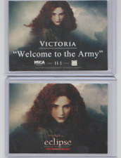 Twilight Saga Eclipse Serie 2 Welcome to the Army Victoria H-1 Rare Trading Card