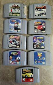 N64 Game Lot Original Racing Sports Authentic