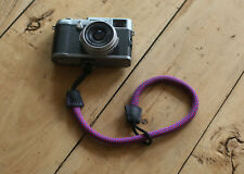 windmup COOL Violet Climbing rope 10mm  handmade Camera wrist band