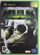 Jeu HULK sur microsoft XBOX (First Gen) - complet game spiel juego marvel 1