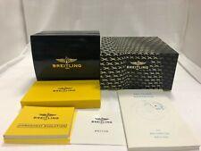 Genuine  BREITLING Watch Box Case Black r20702014