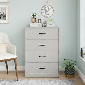 Mainstays Classic 4 Drawer Dresser - Dove Gray - BRAND NEW! - FREE SHIPPING!