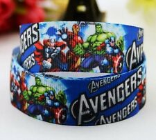 Cake Craft Hair RIBBON Decoration Birthday Cake Decorating- 22mm - AVENGERS - 1m