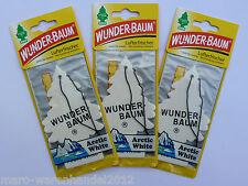 (1,33 €/Unité) 3x Miracle-Arbre ® Arctic White-Purificateur duftbaum Magic Tree