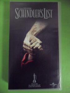 SCHINDLER'S LIST.VHS.SPIELBERG-LIAM NEESON