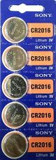Sony Cr2016 Lithium Battery Bl201 AUD 1x BLISTER