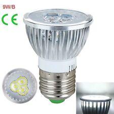 1/10PCS E27 GU10 MR16 Dimmable 3W 9W LED Ultra Bright Spotlight Lamp 110V/220V