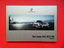 Prospekt / Buch / Katalog / Brochure Porsche 911 (997) GT2 RS  01/10