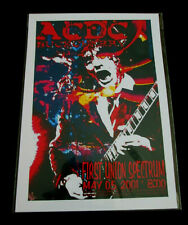 AC/DC : FIRST UNION SPECTRUM 2001   : A4 GLOSSY REPO POSTER