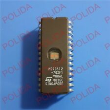 1PCS IC ST CDIP-28 M27C512-70XF1