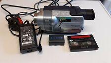 Sony Handycam Digital 8 DCR-TRV145E PAL Video Camera Recorder
