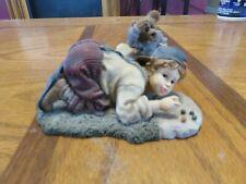 Boyds Bear Yesterdays Child Dollstone Butch Clayton Eyen It Up Figurine 3562
