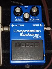 BOSS CS-2 JAPAN 1983 COMPRESSION SUSTAINER + Boss Parts Replacement GIFT Omaggio