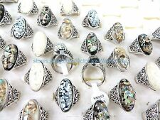 12pcs bulk wholesale jewelry  seashell rings wholesale jewelry